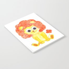 cute lion Notebook