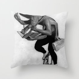 The Spice of Life Throw Pillow