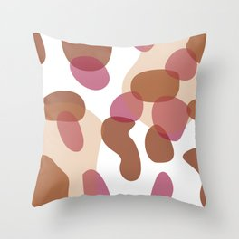 desin, cow dots Kids edition Throw Pillow