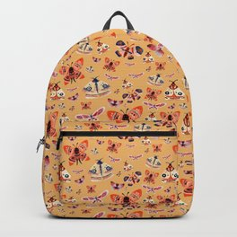 Moth pattern 1 Backpack