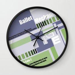 Leger Ballet Mechanique Wall Clock