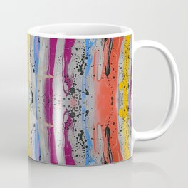 Abstract Stripe Pattern Coffee Mug