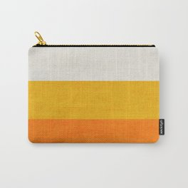 three stripes - candy corn Carry-All Pouch