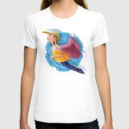 Bird woman T-shirt