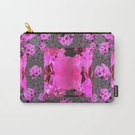 Rose Pink Rubies Gemstone July Birthstone Art Carry-All Pouch