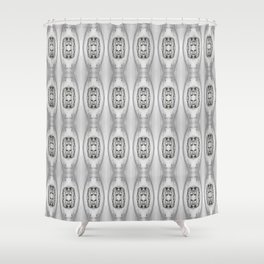 nude collage 2 Shower Curtain