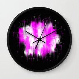 Defiance III Pink Wall Clock