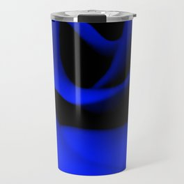 Blue Rose II Travel Mug