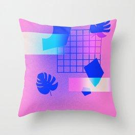 M O N S T E R A Throw Pillow