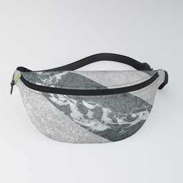Marble Illusion Fanny Pack