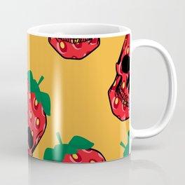 Skull Strawberries  Coffee Mug