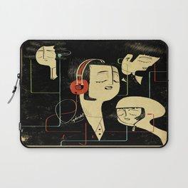 乐 Music Lovers / Vintage Laptop Sleeve