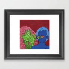 Secret Inspiration Framed Art Print