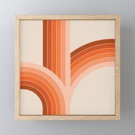 Red Rock Bounce Framed Mini Art Print