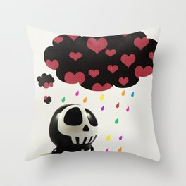 Automatons Have Feelings Too Throw Pillow