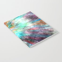 Colorful Tie Dye Notebook