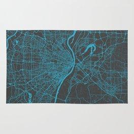 Saint Louis Map Rug