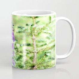 Pretty Purple Flower Coffee Mug