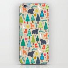 summer woodland iPhone & iPod Skin