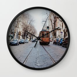 Middle of the road Wall Clock