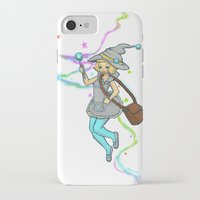magical girl iPhone & iPod Cases featuring Magical Girl by CombatantCucumbers