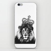 the lion king iPhone & iPod Skins featuring Lion King by MaNia Creations