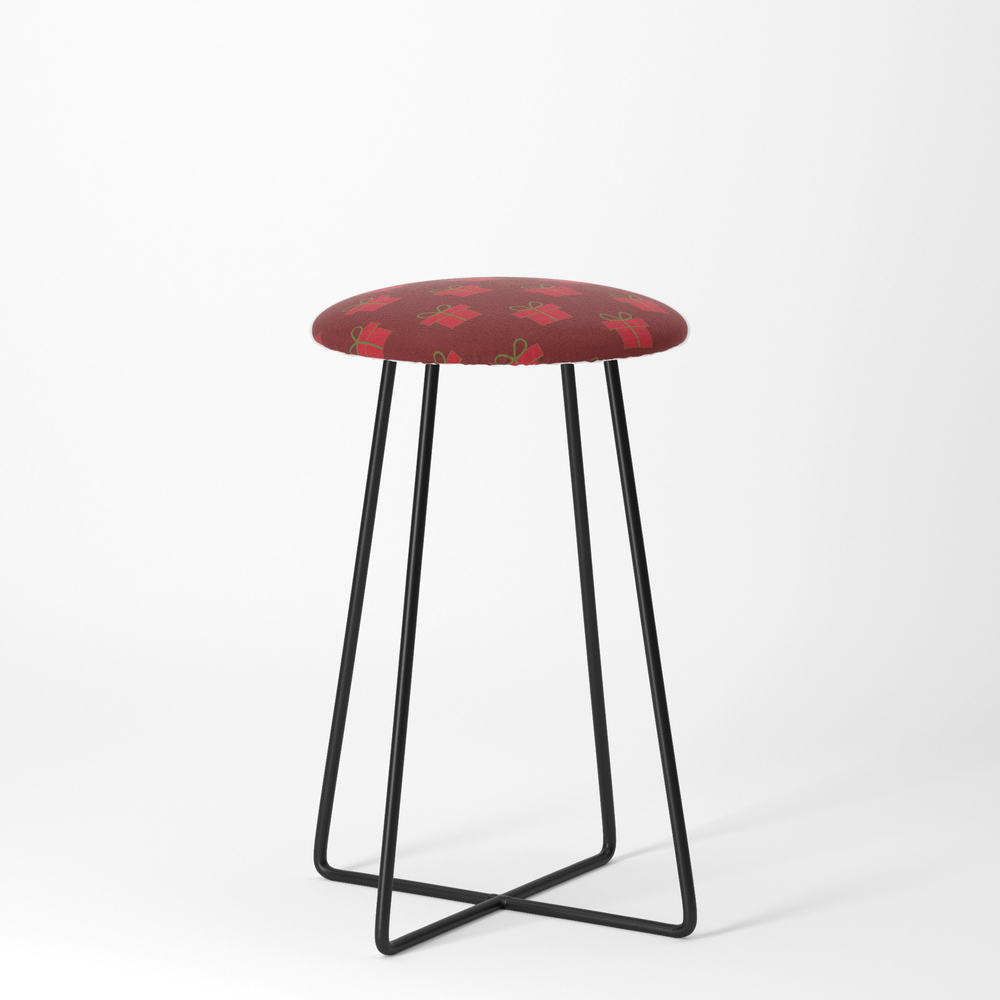 Christmas_Gifts_-_Red_Counter_Stool_by_wackapacka