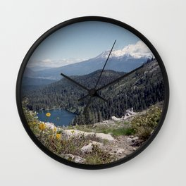 Mt Shasta Wall Clock