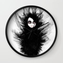 Becoming You. I'm Not Afraid Anymore Wall Clock