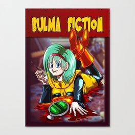Bulma Fiction Canvas Print