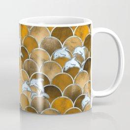 Wave Jumpers (Amber) Coffee Mug