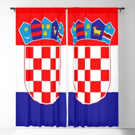 Flag of Croatia Blackout Curtain
