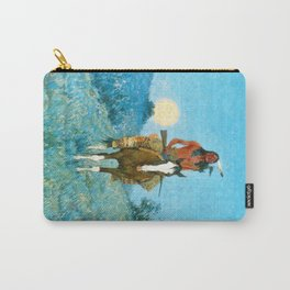 The Outlier by Frederic Sackrider Remington Carry-All Pouch
