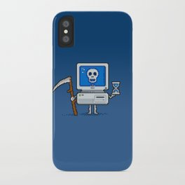 Blue Screen of Death iPhone Case