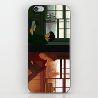 enjolras iPhone & iPod Skins featuring Enjolras & Grantaire by rdjpwns