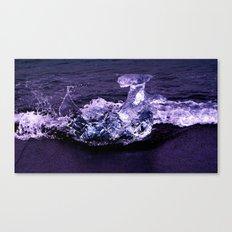 ice wave breaker Canvas Print