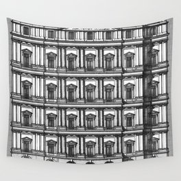 Windows and Columns Wall Tapestry