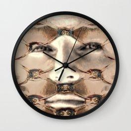 Puffy eyes Wall Clock