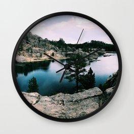 little lake Wall Clock