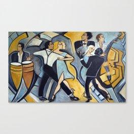 La Fraicheur Tango Canvas Print