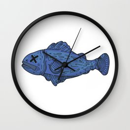 Fish 2 Wall Clock