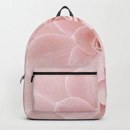 Blush Succulent Backpack