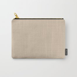frosted almond Carry-All Pouch