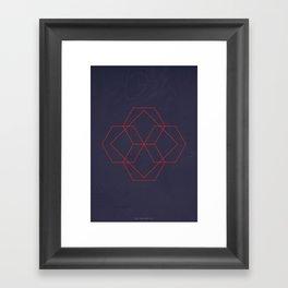 Geometric No.4 Framed Art Print
