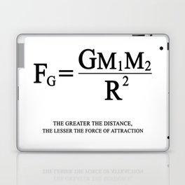 Newton's law of universal gravitation Laptop & iPad Skin