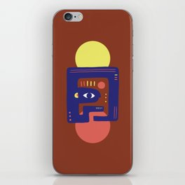 Mother Earth - Minimal Modern Mid-Century Snake iPhone Skin