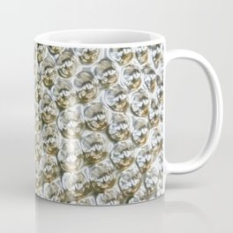 Silver Metallic Spiked Studs Coffee Mug