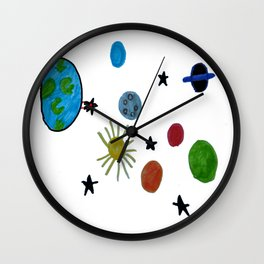 Space Patric Wall Clock