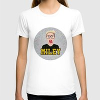 miley T-shirts featuring Miley Cyrus by Jessica Guetta