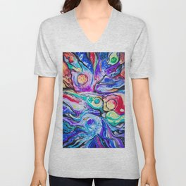 Weird fishes Unisex V-Neck